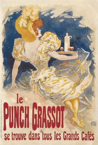 2062014: Poster, JULES CHERET (1836-1932). LE PUNCH GRA