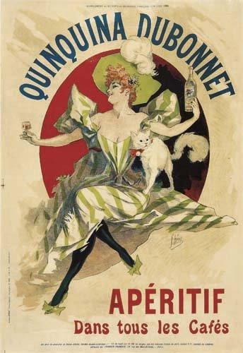 2062016: Poster, JULES CHERET (1836-1932). QUINQUINA DU