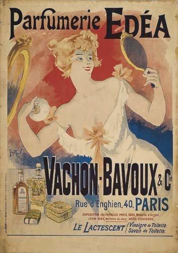2062020: Poster, GEORGES MEUNIER (1869-1942). PARFUMERI