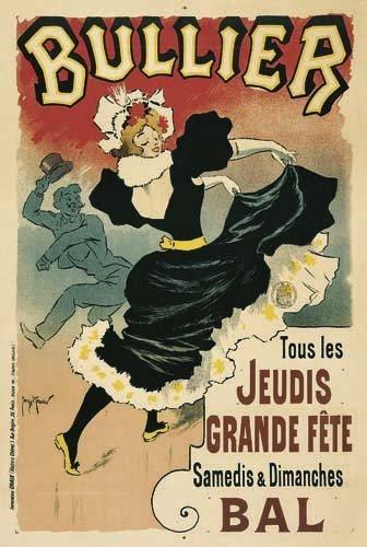 2062021: Poster, GEORGES MEUNIER (1869-1942). BULLIER.