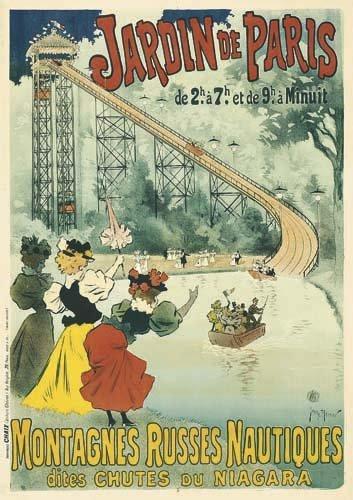 2062022: Poster, GEORGES MEUNIER (1869-1942). JARDIN DE
