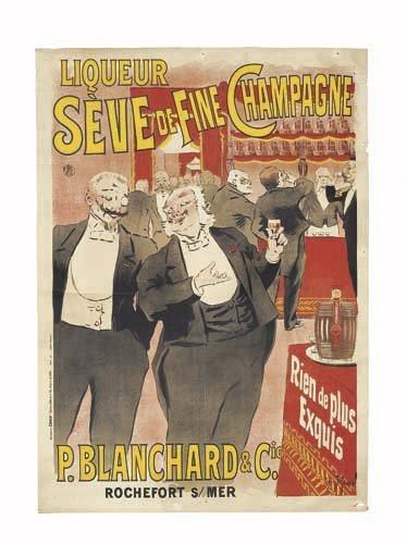2062023: Poster, GEORGES MEUNIER (1869-1942). LIQUEUR S