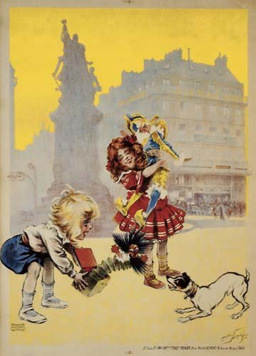 2062024: Poster, MAURICE NEUMONT (1868-1930). A LA PLAC