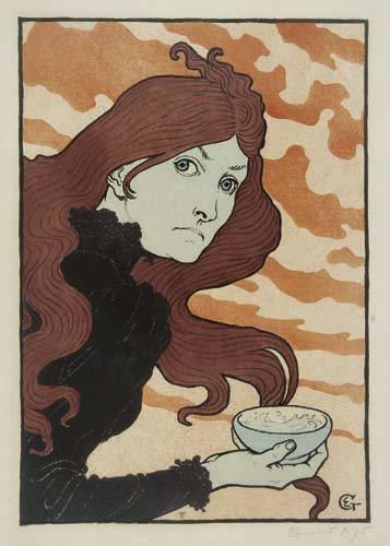 2062053: Poster, EUGENE GRASSET (1841-1917). [LA VITRIO