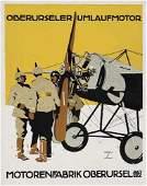 2062150: Poster, LUDWIG HOHLWEIN (1874-1949). MOTORENFA