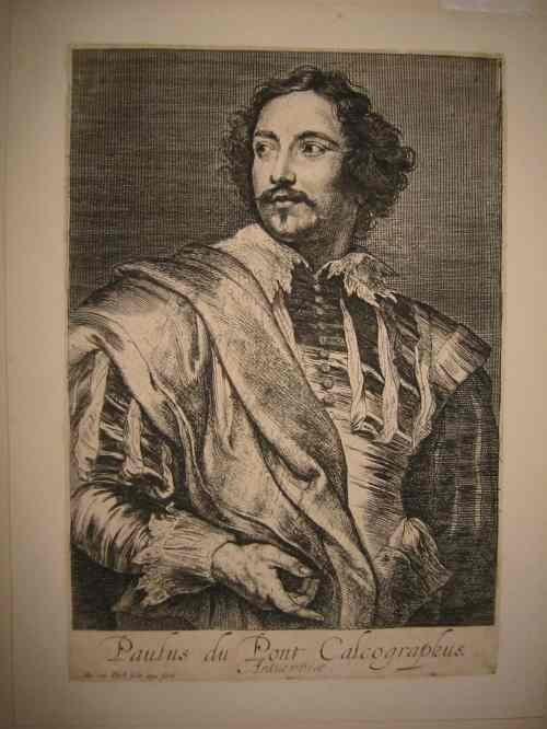 2063005: ANTHONY VAN DYCK Group of 5 etchings.