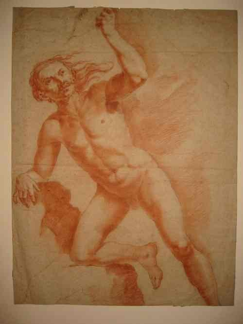 2063017: OLD MASTER DRAWINGS Collection of approximatel