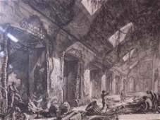 2063033: GIOVANNI B. PIRANESI Two etchings from the Ved