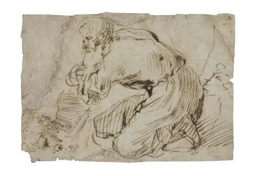 2064004: Group of 4 drawings.