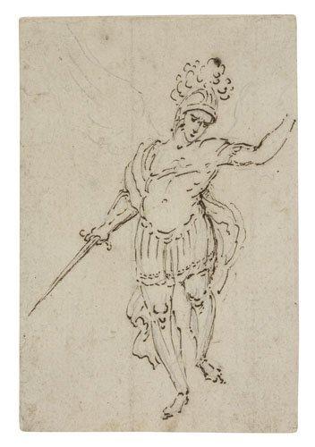 2064012: Group of 10 drawings.