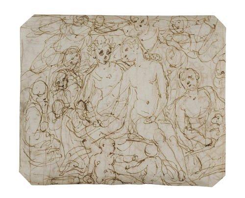 2064020: PERINO DEL VAGA (CIRCLE OF) (Florence 1501-154