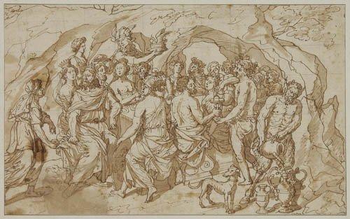 2064024: GIULIO ROMANO (FOLLOWER OF) (Rome circa 1499-1