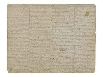 2065108: (HAWAII.) Stow, Manasseh. Manuscript journal c