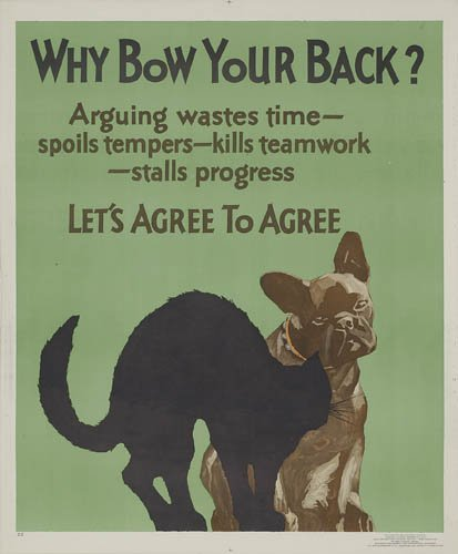 2066002: Poster. ANONYMOUS. WHY BOW YOUR BACK. 1929. 43