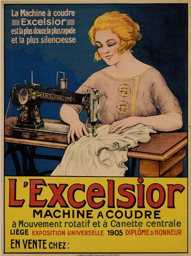 2066024: Poster. ANONYMOUS. L'EXCELSIOR. 30x23 inches.