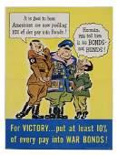 2066065: Poster. VARIOUS ARTISTS. WORLD WAR II. Group o