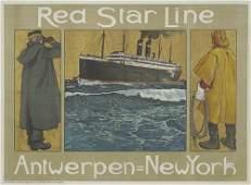 2066102: Poster. HENRI CASSIERS. RED STAR / ANTWERP - N