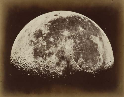 2067009: RUTHERFORD, LEWIS M. (active 1860s) The Moon.