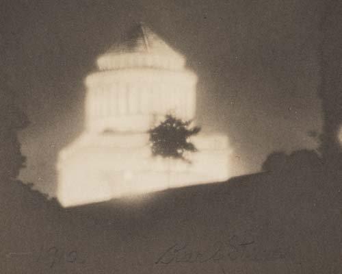 2067023: STRUSS, KARL (1886-1981) New York City night v