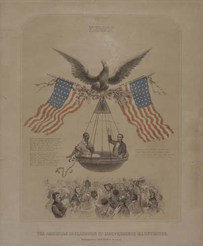 2068012: The American Declaration of Independence Illus