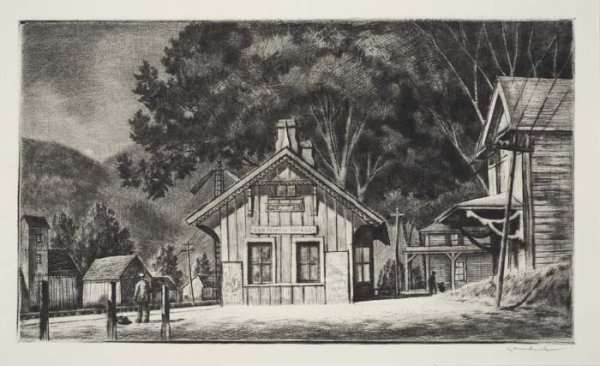2069021: AMERICAN PRINTMAKERS Collection of 14 etchings