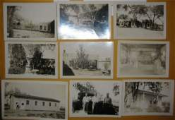2073011: (GODDARD, ROBERT H.) Group of 9 photographs sh