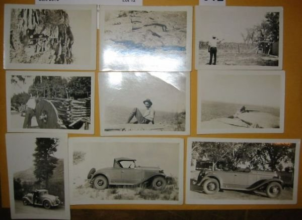 2073012: (GODDARD, ROBERT H.) Group of 9 photographs sh