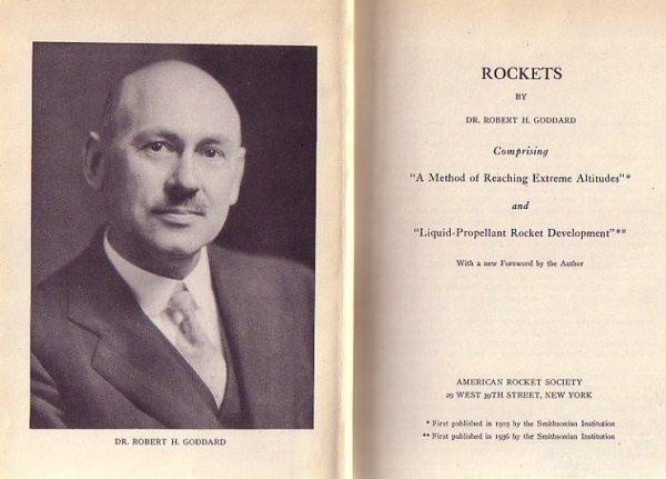 2073013: (GODDARD, ROBERT H.) Rockets