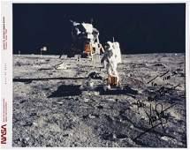 2073153: Apollo 11 on Moon. An 8x10 inch color photogra