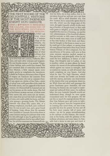 2075015: CERVANTES, SAAVEDRA, MIGUEL DE. The First [Sec
