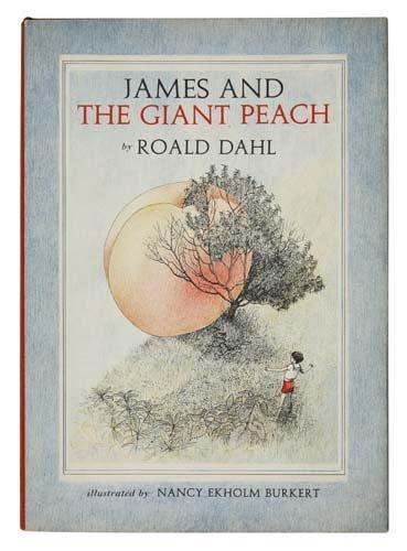 2075017: DAHL, ROALD.  James and the Giant Peach.  1961