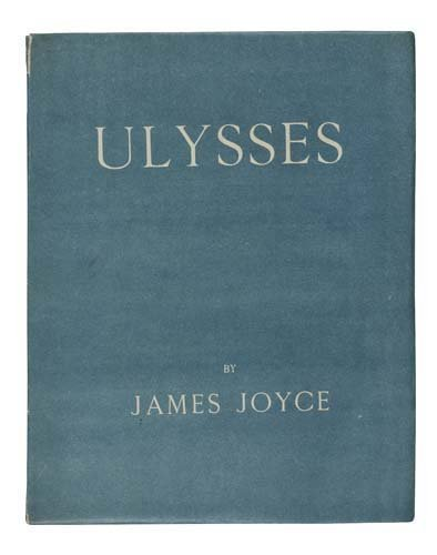 2075037: JOYCE, JAMES.  Ulysses.  1922.  Inscribed and