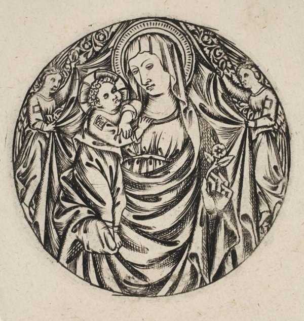 2078002: GERMAN SCHOOL, 15TH-CENTURY The Virgin and Chi