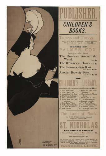 2079002: Poster. AUBREY BEARDSLEY (1872-1898). CHILDREN