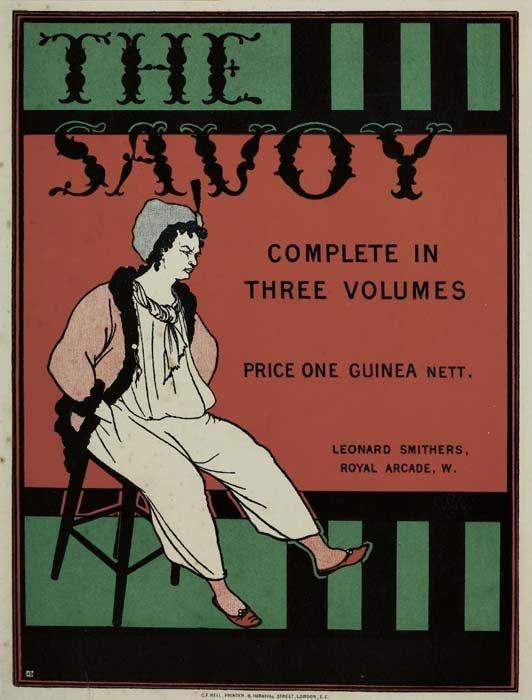 2079003: Poster. AUBREY BEARDSLEY (1872-1898). THE SAVO