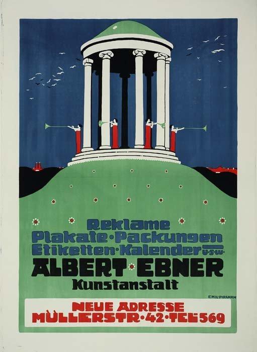 2079006: Poster. EMIL PIRCHAN (1884-1957). ALBERT EBNER