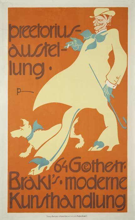 2079007: Poster. EMIL PREETORIUS (1883-1973). PREETORIO