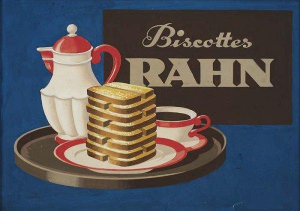 2079008: Poster. LUCIAN BERNHARD (1883-1950). BISCOTTES