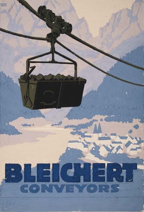 2079010: Poster. LUCIAN BERNHARD (1883-1950). BLEICHERT