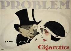 2079015: Poster. HANS RUDI ERDT (1883-1918). PROBLEM CI