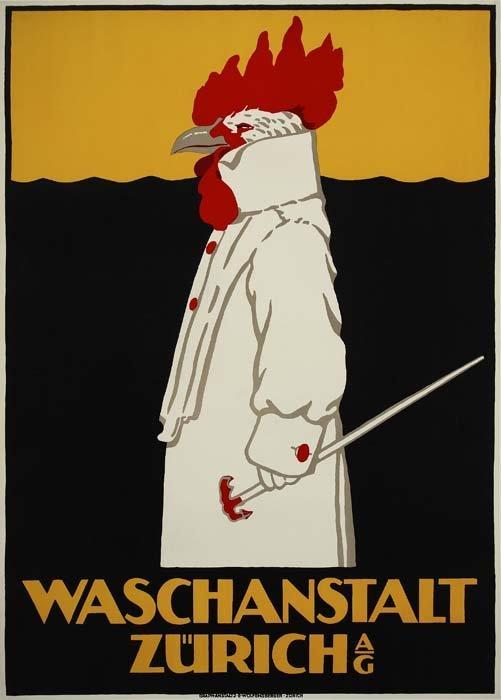 2079016: Poster. RICHARD HARDMEYER (1876-1919). WASCHAN
