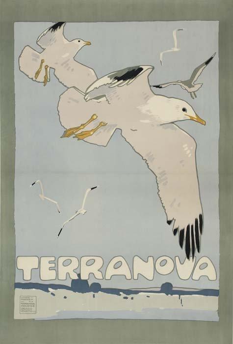 2079017: Poster. LUDWIG HOHLWEIN (1874-1949). TERRANOVA