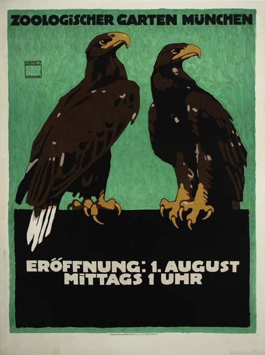 2079018: Poster. LUDWIG HOHLWEIN (1874-1949). ZOOLOGISC