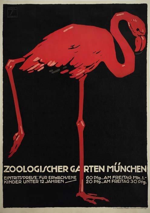 2079019: Poster. LUDWIG HOHLWEIN (1874-1949). ZOOLOGISC