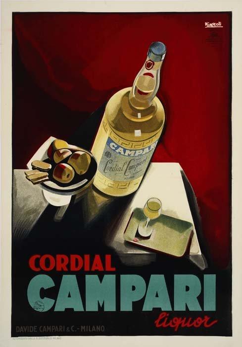 2079169: Poster. MARCELLO NIZZOLI (1887-1960). CAMPARI.