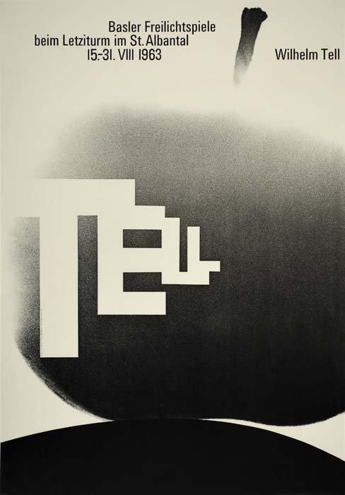 2079195: Poster. ARMIN HOFMANN (1920 - ). WILHELM TELL.