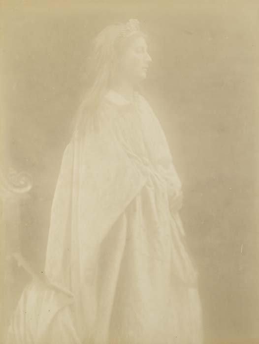 "2080007: CAMERON, JULIA MARGARET (1815-1879) ""Guinevere"