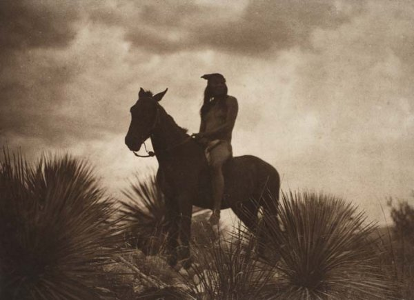 "2080020: CURTIS, EDWARD S. (1868-1952) ""The Scout,"" (pl"