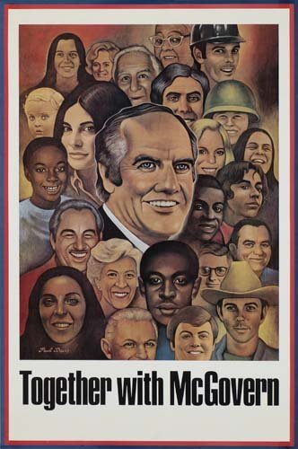 136: Vintage Posters. ANONYMOUS. [PRESIDENTIAL CAMPAIGN