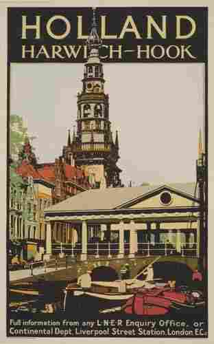 Vintage Posters. FRED TAYLOR HOLLAND. 39x25 inches